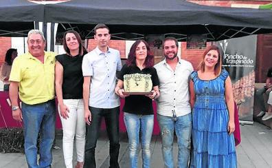 El Bar La Frontera logra el premio a la mejor tapa de la edición del Pincho de Traspinedo