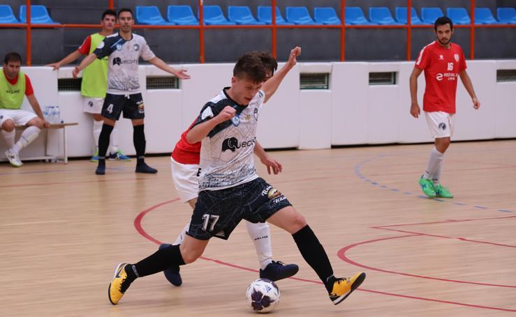 El partido de fútbol sala entre FS Salamanca Unionistas y el Tierno Galván