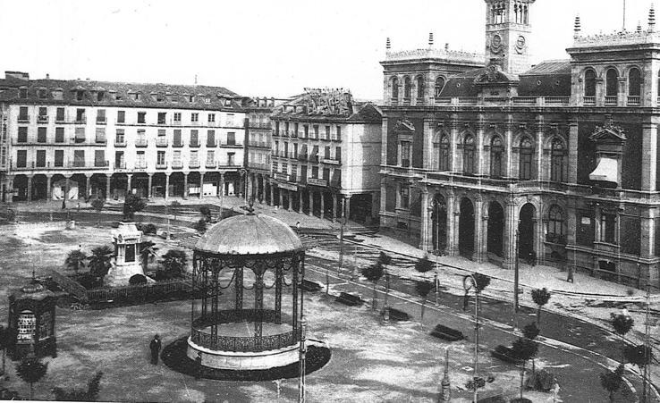 Estampas del Valladolid antiguo (XIX): los desaparecidos templetes de la música