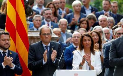 Torra se compromete a avanzar «sin excusas» hacia la independencia