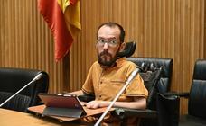 El juez ratifica la sanción contra Echenique por la contratación irregular de su asistente personal