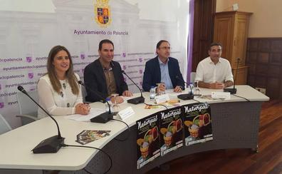La Plaza Mayor de Palencia se convierte en Naturpal, la gran carpa gastronómica de la provincia