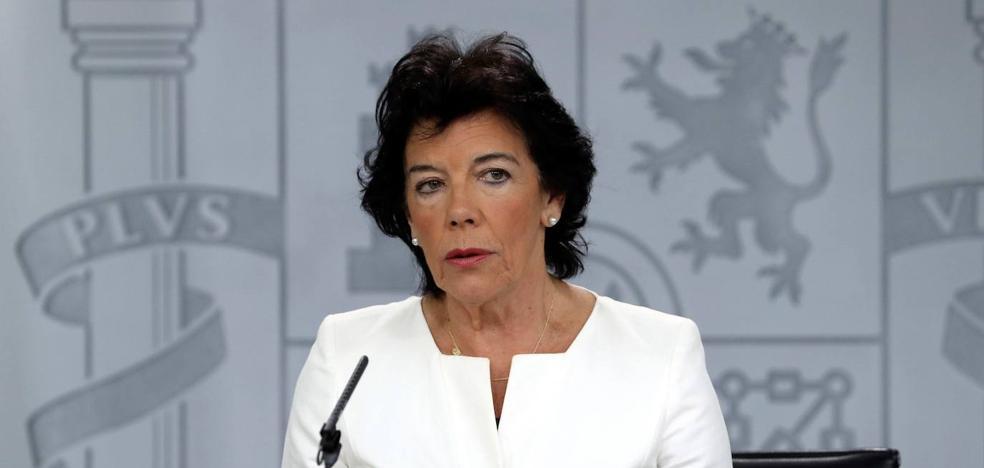 La Junta Electoral amonesta a Celaá por hacer «electoralismo»