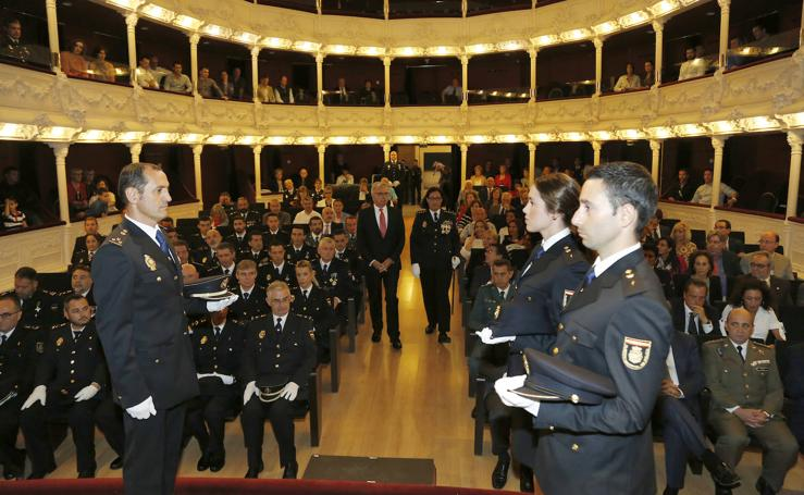 La Policía Nacional festeja a su patrón