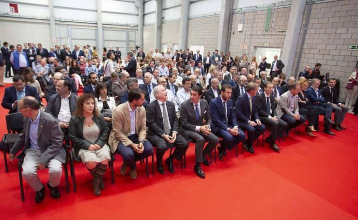 Inauguración de la nueva sede de la Fundación Laboral de la Construcción en Valladolid