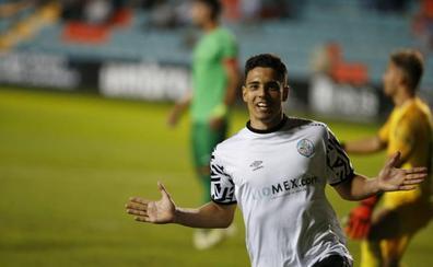 Giovanni mete al Salamanca CF UDS en los octavos de la Copa Federación ante el Burgos (1-0)