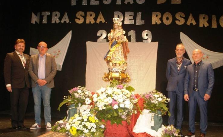 Presentación de la nueva imagen de Nuestra Señora del Rosario en Mojados