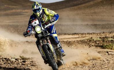 Santolino se prueba en el Rally de Marruecos ante todos los favoritos para el próximo Dakar, entre ellos Fernando Alonso en coches