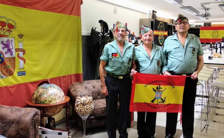 Conmemoración de la fundación de la Legión en Palencia