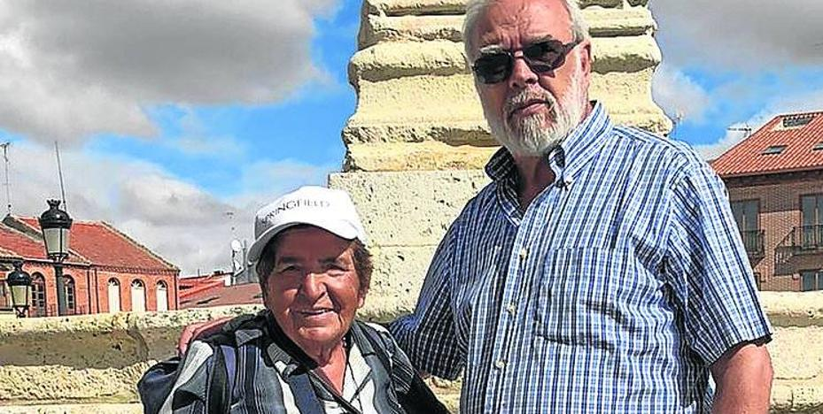 De Madrid a Santiago, a los 81 años