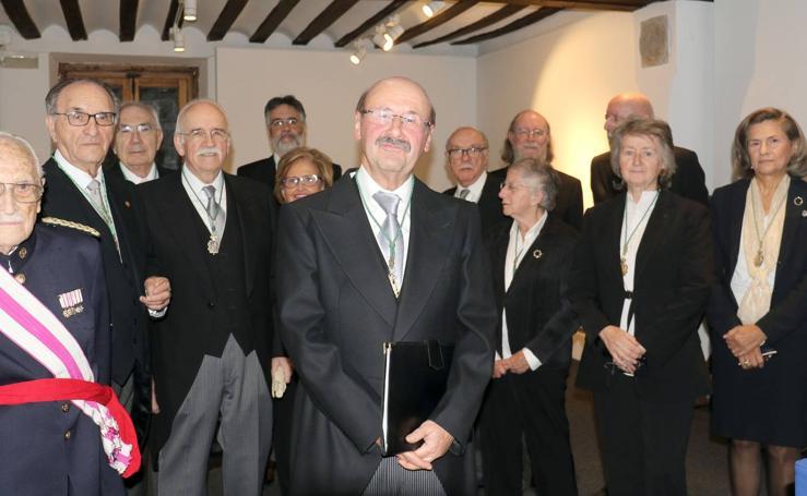 José Carlos Brasas Egido, en la apertura del curso de la Academia de Bellas Artes de la Purísima Concepción
