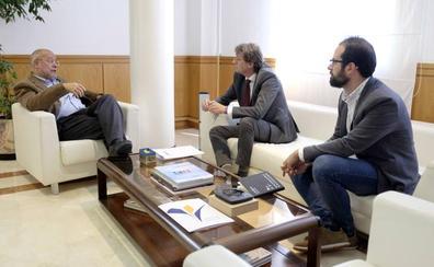 Igea y el alcalde de Soria abordan cómo mejorar las infraestructuras industriales y de vivienda