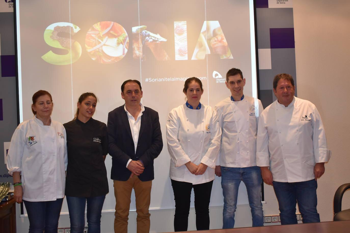 La riqueza culinaria soriana vuelve a estar presente en la feria San Sebastián Gastronómika