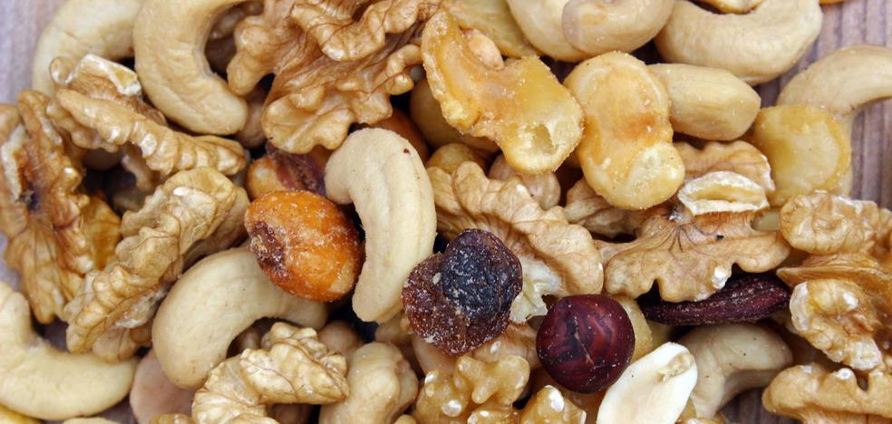 Frutos secos: Solos y acompañados, dulces y salados
