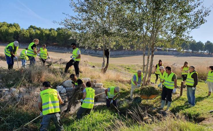 Actividades medioambientales en San Pelayo (Valladolid)