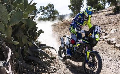 Gran séptimo puesto para Santolino en la primera etapa de Marruecos para ponerse en el 'top ten'