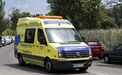 Herido un hombre de 32 años en un accidente en Palencia