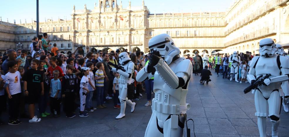 Las tropas de Star Wars toman Salamanca por una causa solidaria