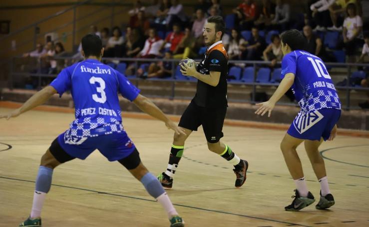 Las imágenes del BM Salamanca-Atlética Avilesina