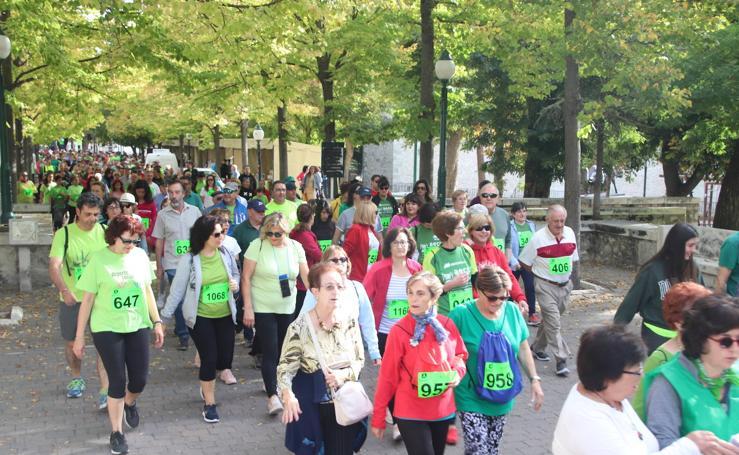 Cuéllar se echa a la calle en la lucha contra el cáncer