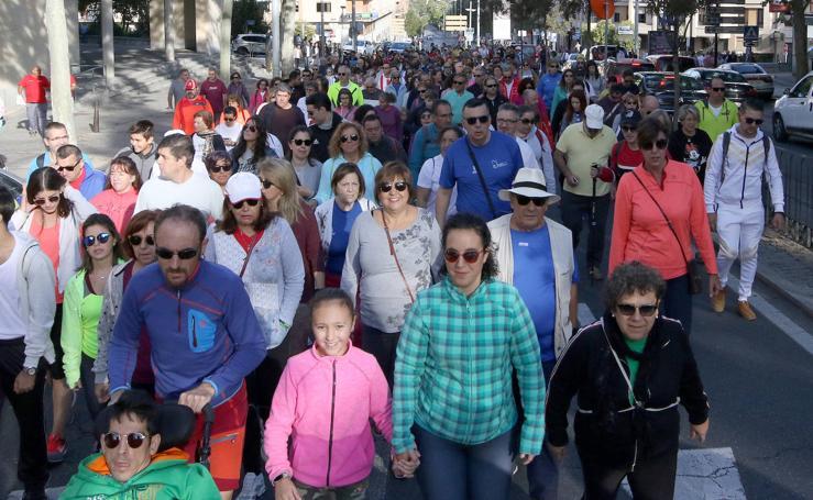 Marcha de Apadefim en Segovia