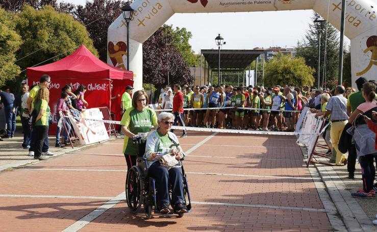 Palencia se vuelca con la carrera contra el cáncer