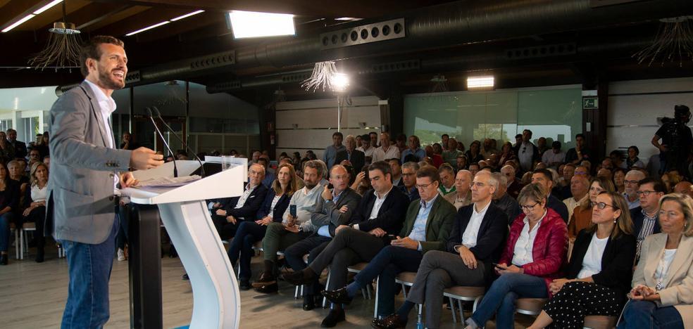 Casado también abre la puerta a pactar con el PSOE después del 10 de noviembre