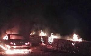 Investigan los robos de un Audi y un BMW quemados en la misma noche en Valladolid