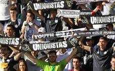 Aficionados durante el derbi Salamanca CF UDS 2 - 0 Unionistas