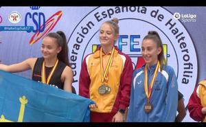 Seis medallas de oro para el Halterofilia Salamanca en el Nacional sub-17