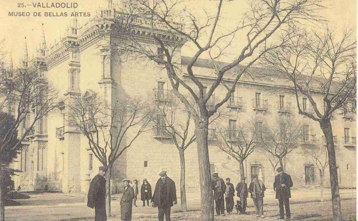 Estampas del Valladolid antiguo (XX): el Palacio de Santa Cruz