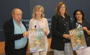 La Feria de la Cebolla de Palenzuela cerrará una cosecha de seis toneladas