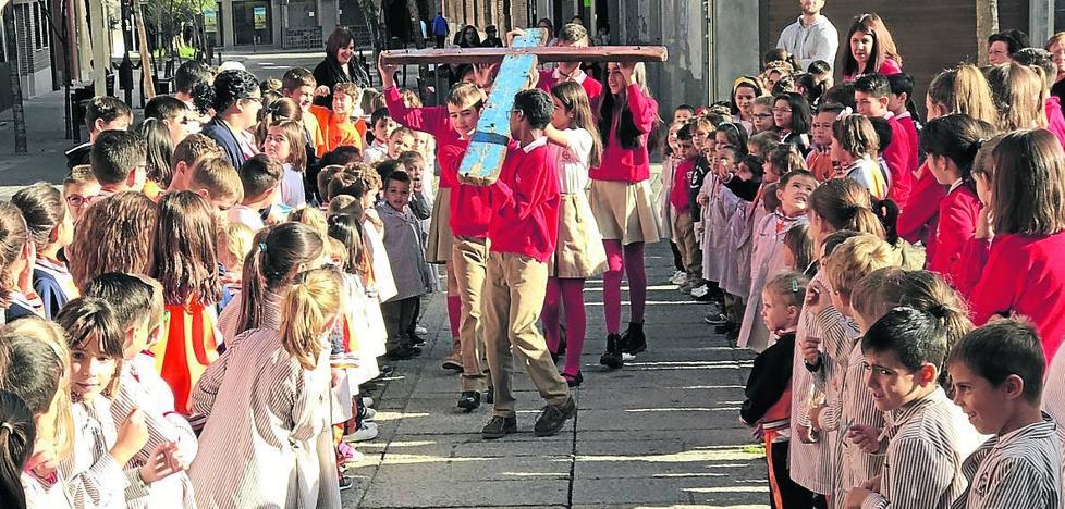 La Cruz de Lampedusa llega a Medina del Campo