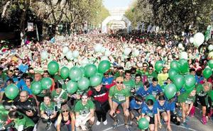 La marcha contra el cáncer apunta a otro récord en Valladolid: a por los 60.000 inscritos