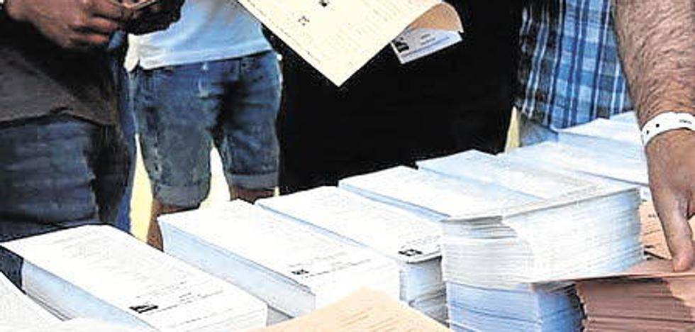 Diez candidaturas concurren al Congreso de los Diputados por Palencia