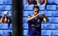 El Real Valladolid marca los mismos goles que hace un año, pero tira menos