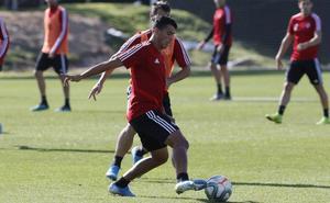 Pedro Porro, ya recuperado, completó el entrenamiento del Real Valladolid