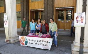 Palencia organiza mañana una mesa informativa en la calle Mayor con motivo del Día de la Salud Mental