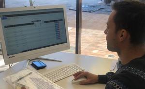 Los fallos en la red dificultan el control informático de la vendimia en Ribera