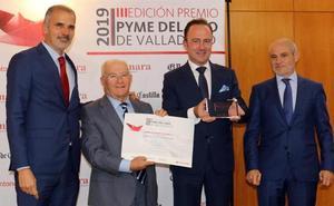 La Cámara de Comercio de Valladolid premia la trayectoria del Grupo Yllera