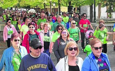 La primera marcha contra el cáncer recauda 9.600 euros