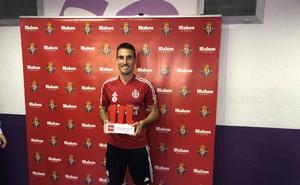 San Emeterio no sabe si el Real Valladolid podrá contar con él para Bilbao