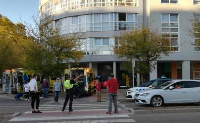 Reaniman a un hombre que sufrió un infarto en plena calle en Burgos