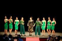 Desfile de moda en Palencia para ayudar al Sáhara