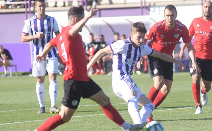 Partido amistoso entre el Real Valladolid y el Salamanca (3-2)