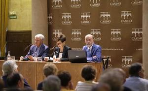 Jesús Málaga abre el curso del Centro de Estudios Salmantinos hablando sobre el cierre de conventos