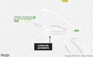 Fallece una mujer tras ser atropellada por su propio vehículo en Almería