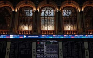 La expectativa de un acuerdo comercial relanza al Ibex-35 hasta los 9.100 puntos