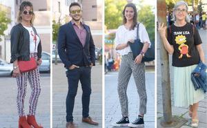 Los 'looks' de los vallisoletanos para acudir a un desfile de moda