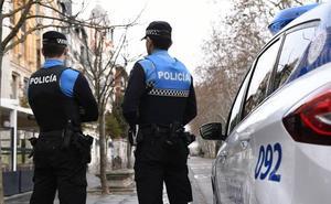 Denunciado por orinar junto a un patrulla de la Policía Local de Valladolid